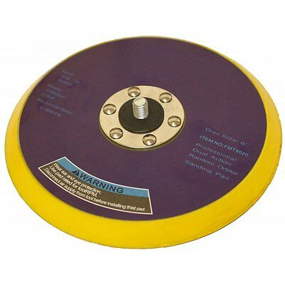 "DA Palm Sander Backing Pad 150mm 6"" Vinyl 5/16 Thread For Self Adhesive Discs"