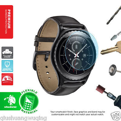Real  Samsung Gear S2/S2 Classic Smart Watch Tempered Glass Screen Protector