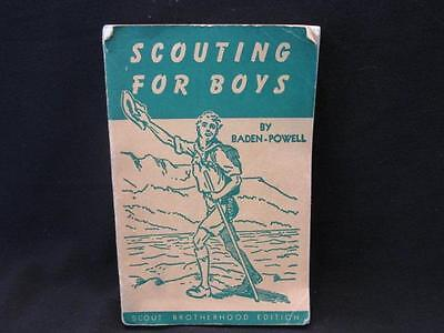 Scouting for Boys by Baden-Powell Scout Brotherhood Edition Vintage Paperback