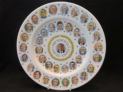 "Presidents of the United States Washington to Carter 10""  Plate 1977"