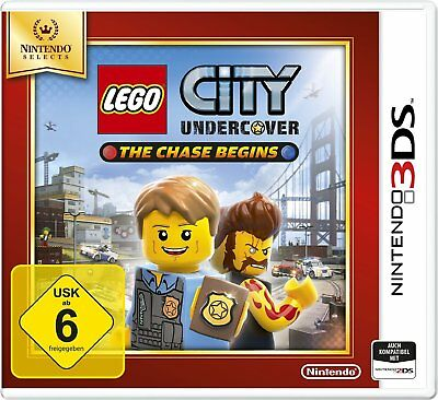 LEGO City Undercover-The Chase Begins (Selects) Nintendo 3DS !!!!! NEU&OVP !!!!!