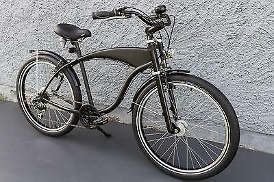 26 fat tyre beachcruiser fahrrad fattie cruiser chopper. Black Bedroom Furniture Sets. Home Design Ideas