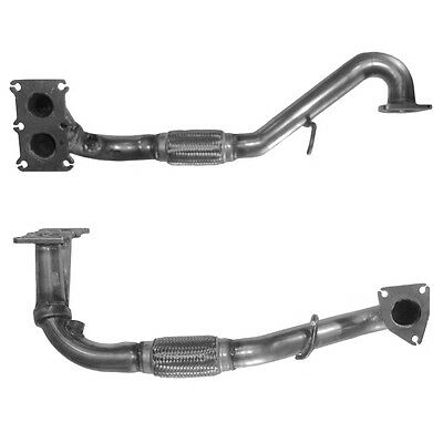 MG TF Exhaust Front Down Pipe Inc Fitting Kit 70442 1.6 1/2002-onwards