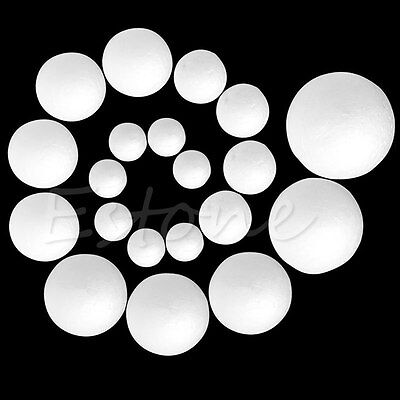 10/20/50/100PCS 20-80mm Modelling Polystyrene Styrofoam Foam Ball