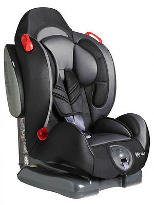 My Child Echo Plus Group 1 / 2 Car Seat Black From 9Kg To 25Kg 5 Recline Setting