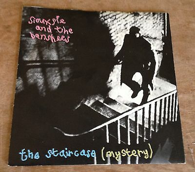 SIOUXSIE AND THE BANSHEES the staircase (mystery)*20th century boy 1979 UK PS 45
