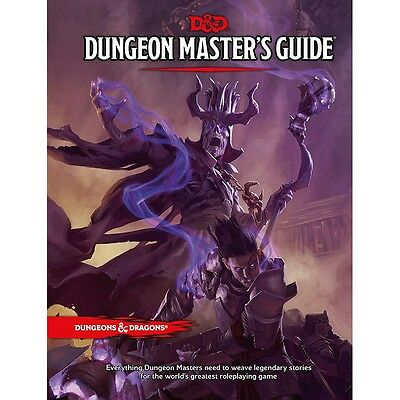 Dungeons And Dragons 5Th Edition - Dungeon Masters Guide - Hardback