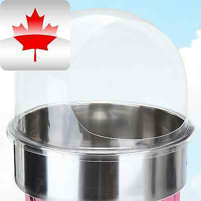 Candy Floss Machine Cover Dome Opening Cotton Candy Maker Clear Bubble 20 C