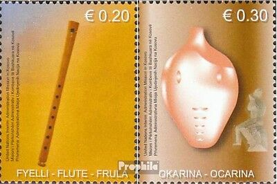 kosovo (UN-Administration) 20-21 mint never hinged mnh 2004 Holzblasinstrumente