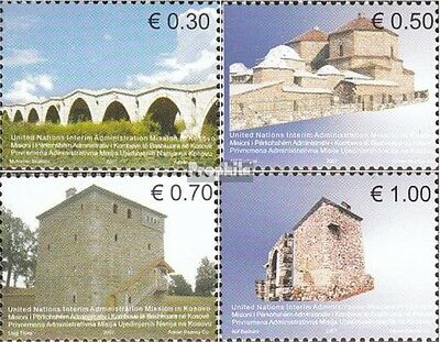 kosovo (UN-Administration) 86-89 mint never hinged mnh 2007 Architecture