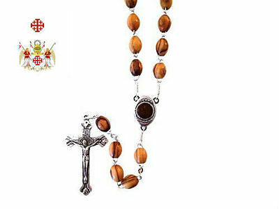 Medieval Holy Sepulchre Crusades Catholic Knight Olive Rosary Battle Cross War X