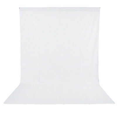 Neewer 6x9FT/1.8x2.8M Photo Studio 100% Pure Muslin Collapsible Background-White