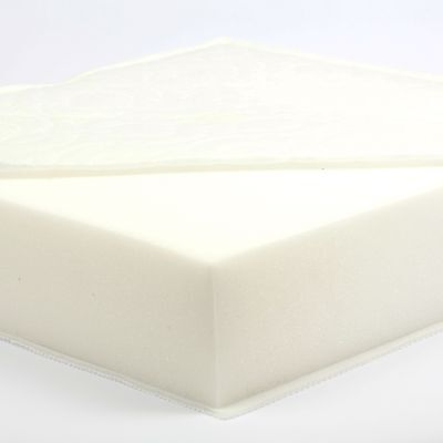 130 x 65 x 10 cm Foam Safety Cot Bed Mattress - CUSTOM MADE - MADE IN THE UK