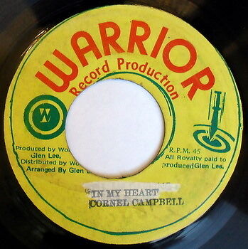 CORNELL CAMPBELL / GLEN LEE: In My Heart / Record Producer 45 Hear! (Jamaica)
