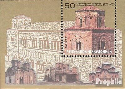 Macedonia block7 mint never hinged mnh 2000 religious Paintings