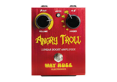 Way Huge Angry Troll Booster Linear Booster Effektpedal Effectpedal NEU NEW