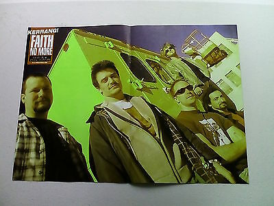 Faith No More  Van Halen / Cannibal Corpse   Double Page  Poster (LMF49)
