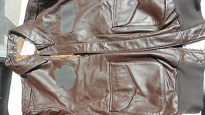 A-2 Flight Jacket USAF MFG Cooper Saddlery Sports wear 2001 44 long