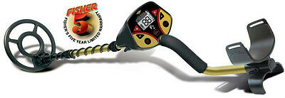 """Fisher F2 F-Series Coin & Treasure Metal Detector 8"""" & 4"""" Coils + PinPointer Kit"""