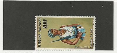 Malagasy Republic, Postage Stamp, #C87 Mint LH, 1967