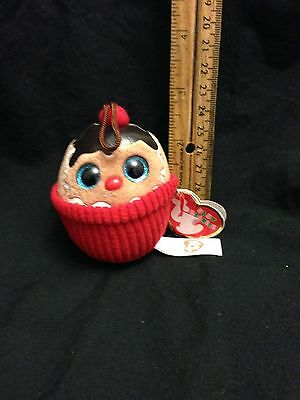 """TY Holiday Baby - COCO the Gingerbread Sundae 2014 2.5"""" With Hang Tag"""