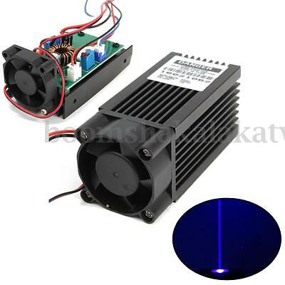 445nm 2000mW 2W Blue Laser Module With TTL Driver Board For CNC Cutter Engraving