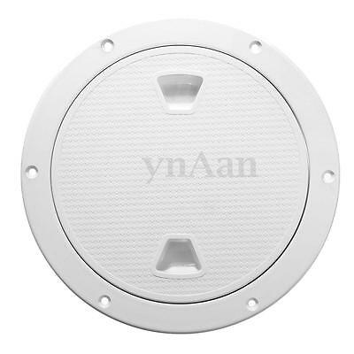 4''/6''/8'' ABS Round Marine Inspection Cover Deck Hatch Screw Out Boat Access