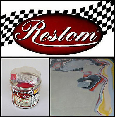 Mastic Polyester De Finition Restom Fill Top 9010  Carrosserie Auto Moto