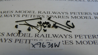 Hornby X9631W Class M7 Small Parts Decorative Detail Pack Weathered