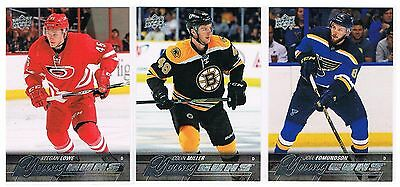 2015-16 Joel Edmundson Upper Deck Series 1 Young Guns Rookie #207 Blues