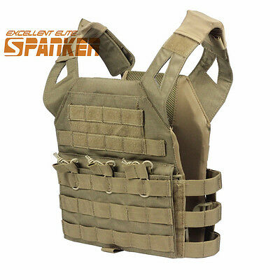 Hunting Children's Kids Mini Tactical Airsoft Molle Protective Vest Coyote Brown