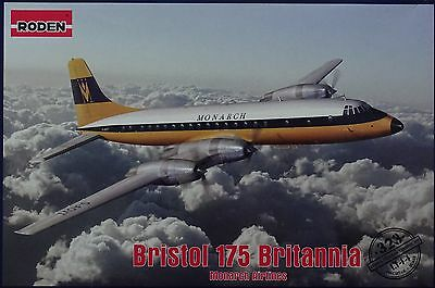 RODEN® #323 Bristol 175 Britannia Monarch Airlines in 1:144