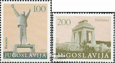 Yugoslavia 1991C-1992C mint never hinged mnh 1983 revolution monuments