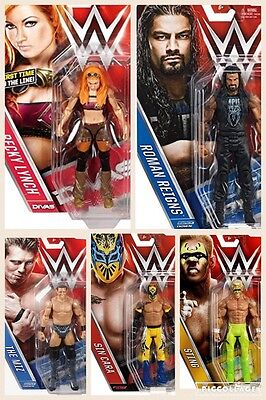 Wwe Mattel Basic Series 62 Wrestling Action Figure Wrestler Raw Nxt Divas Legend