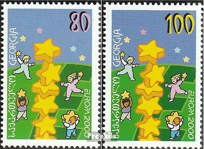georgia 330-331 (complete.issue.) unmounted mint / never hinged 2000 Europe