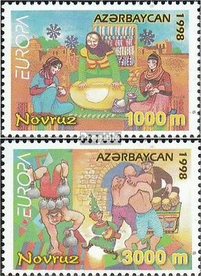 Aserbaidschan 438-439 (complete.issue.) unmounted mint / never hinged 1998 Celeb