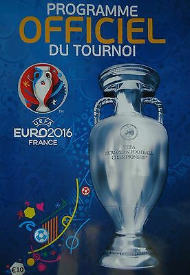 official Tournament Programme UEFA Euro 2016 France (french)