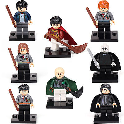 Harry Potter Hermione Malfoy Ron Snap 8 Minifigures Building bricks toys LEGO