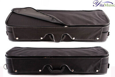 A Quality Rectanglar Hard Viola Case for 16''-16.5'' Viola