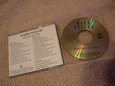 Mark Nesler *1998 52-Minute Interview Disc With Music From His Debut CD!