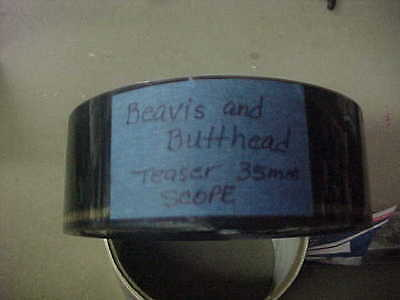 BEAVIS AND BUTTHEAD, orig scope 35mm trailer [Animation]