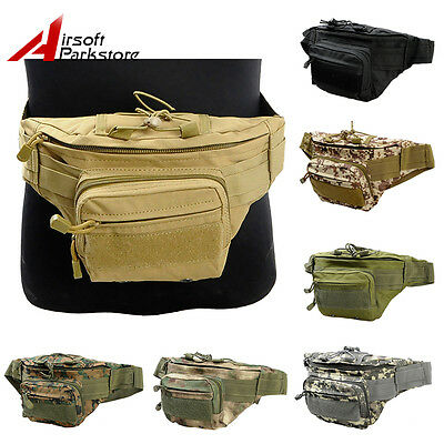 Tactical Military Outdoor Men's Utility Waist Bag Fanny Pack Travel Hiking Pouch