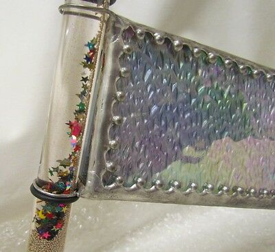 KALEIDOSCOPE: Christmas gift by Alexander. Hand crafted in 'pewter' with lustre