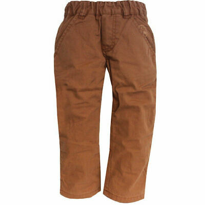Timberland Boys Kids Brown Regular Fit Cotton Pants Trousers T0082 243 U6
