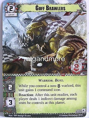 Legions of Death Warhammer 40000 Conquest LCG Immortal Legion  #022