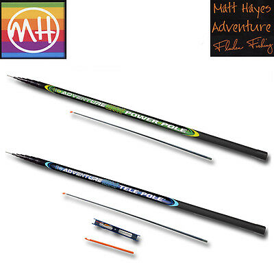 Fladen Matt Hayes Adventure 5 & 8M Tele Pole/Whip + Spare Elasticated Top Kit