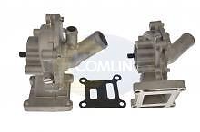 New Water Pump Ford Mondeo Mk3,transit 2.0 Di,tdci With Back Housing + Gasket