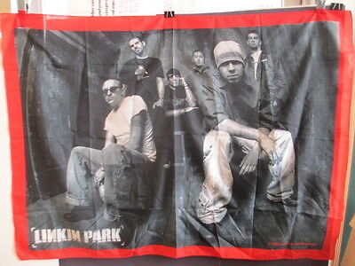 "Linkin Park 41X30"" Tapestry Wall Decoration 2003 Bandmerch Rap Rock"