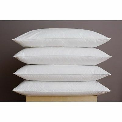 White Cotton Hollowfibre Cushion Pad Inner Insert Bounceback Fibre (Like Down)