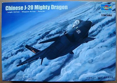 TRUMPETER® 03923 Chinese J-20 Mighty Dragon in 1:144